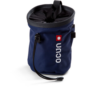 Ocun Push + Belt Chalk Bag blue twist